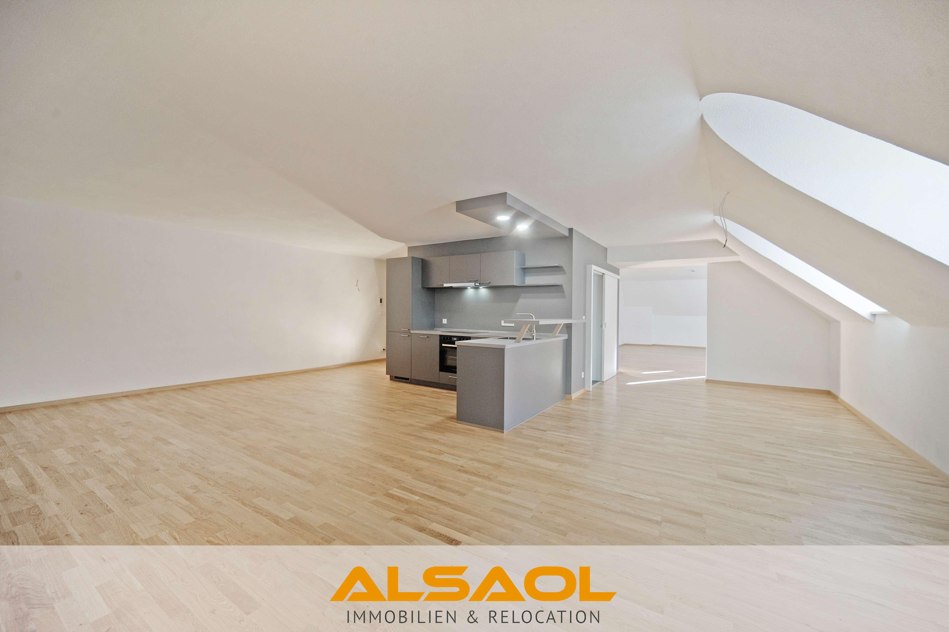 ALSAOL Immobilien: Besonders Wohnen in Moosburg an der Isar - saniertes Loft mit Altbau-Flair! in