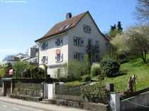 Ein Landhaus am Rhein mit