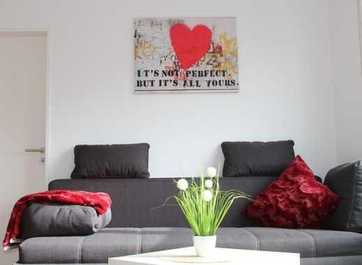 VOLL MÖBLIERTES Appartement in Bergkamen, All inklusive Festpreis