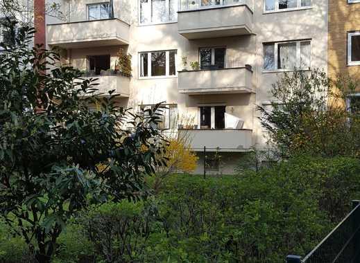 3 Zimmerwohnung in Hannovers Warmbüchenviertel, mit grünem Innenhof