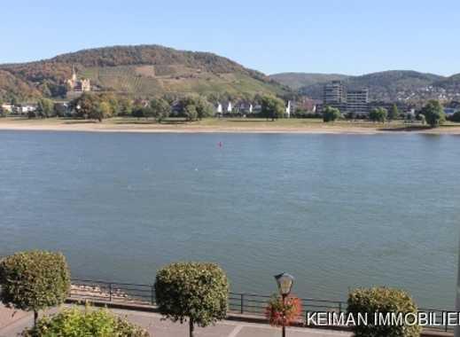 Exklusive Eigentumswohnung mit Traum-Aussicht direkt am Rhein !