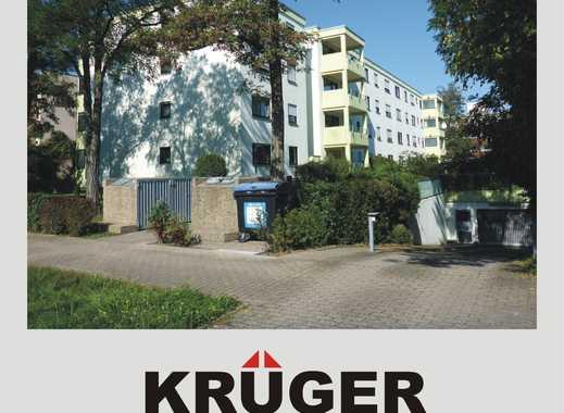 KA-Daxlanden / gemütliche 3,5-Zi-Whg mit Loggia, EBK, Hobbyraum (23m²), TG-Stellplatz & Keller