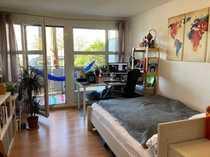 1-Zimmer-Apartment mit Single-Küche und Südbalkon