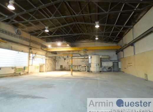 Lager-/ Produktionshalle mit Kränen -Duisburg Meiderich-