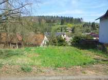 Ruhiges sonniges Baugrundstück in Ortsrandlage -