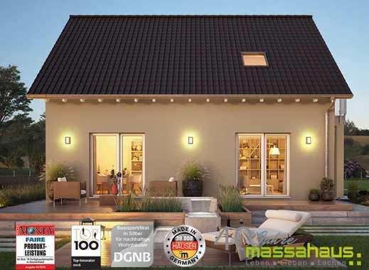 Trendiges Energiesparhaus mit viel Platz und herrlichem Grundstück in Top-Lage