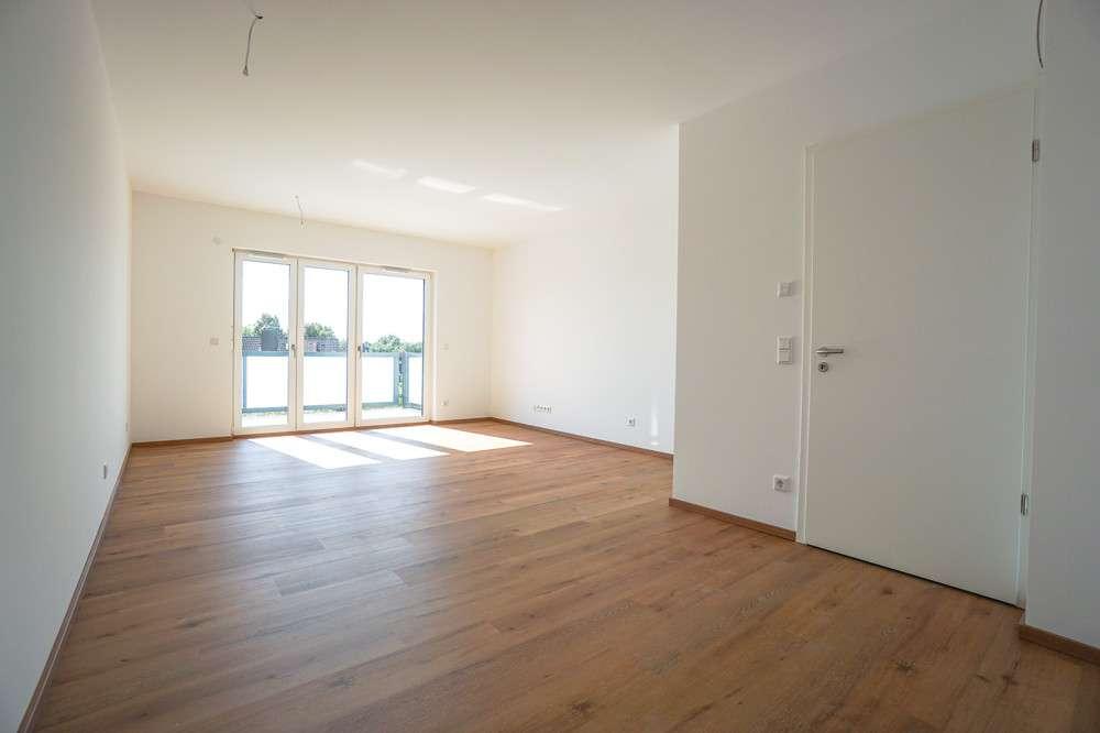 ERSTBEZUG: 2-Zimmer-Traumwohnung mit hochwertiger EBK, großem Westbalkon u. XXL-Dusche in
