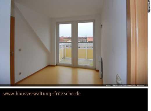 großzügige 2-Raumwohnung mit Balkon im Dachgeschoß