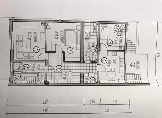 Erstbezug nach Sanierung 3-Zimmer-EG-Wohnung mit Terrasse & Garten in Bornheim - Hemmerich