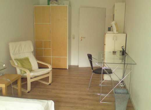 möbl. Zimmer m. SW-Balkon (nur weibl. Inter.)