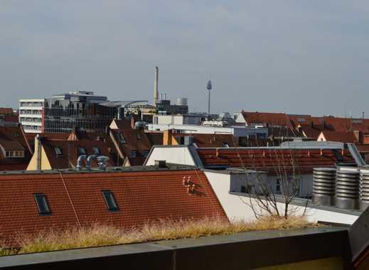 Schöne 4 Zimmer Wohnung mit darüberliegendem Home-Office mit Loggia Nürnberg, Altstadt, St. Lorenz