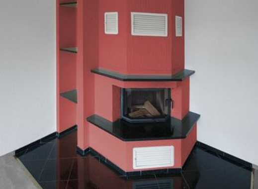 Heizkamin mit Wohnung, zwei Balkone, Tiefgarage - perfekt! Wenn da nicht die Farbwahl wäre …..