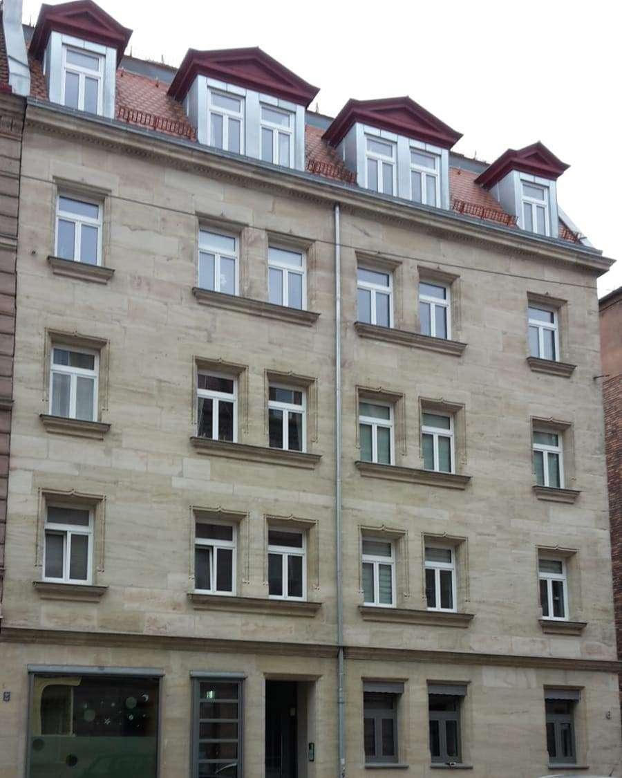 Sehr schöne, sanierte 2-Zimmer-Wohnung mit Balkon und EBK in Nürnberg in Uhlandstraße (Nürnberg)