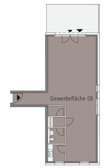 Grundriss Einheit 05