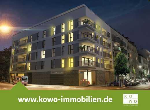 NEUBAU IM ZENTRUM-SÜD: Große 3-Zimmer-Wohnung mit Balkon im 3. Obergeschoss