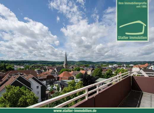Genießen Sie den Ausblick- Gut aufgeteilte Wohnung mit Zugang zum Aufzug im Stadtzentrum
