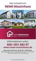 Bild Neubau Doppelhaushälfte in Berlin Biesdorf mit 6 Zimmern 152 qm Wohn/Nutzfläche. Zu Fuß zu U-Bahn.