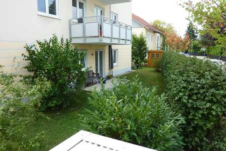 sonnige, 2 Zimmer Gartenwohnung in ruhiger Lage, S-Bahn Nähe, von privat in Hohenbrunn (München)