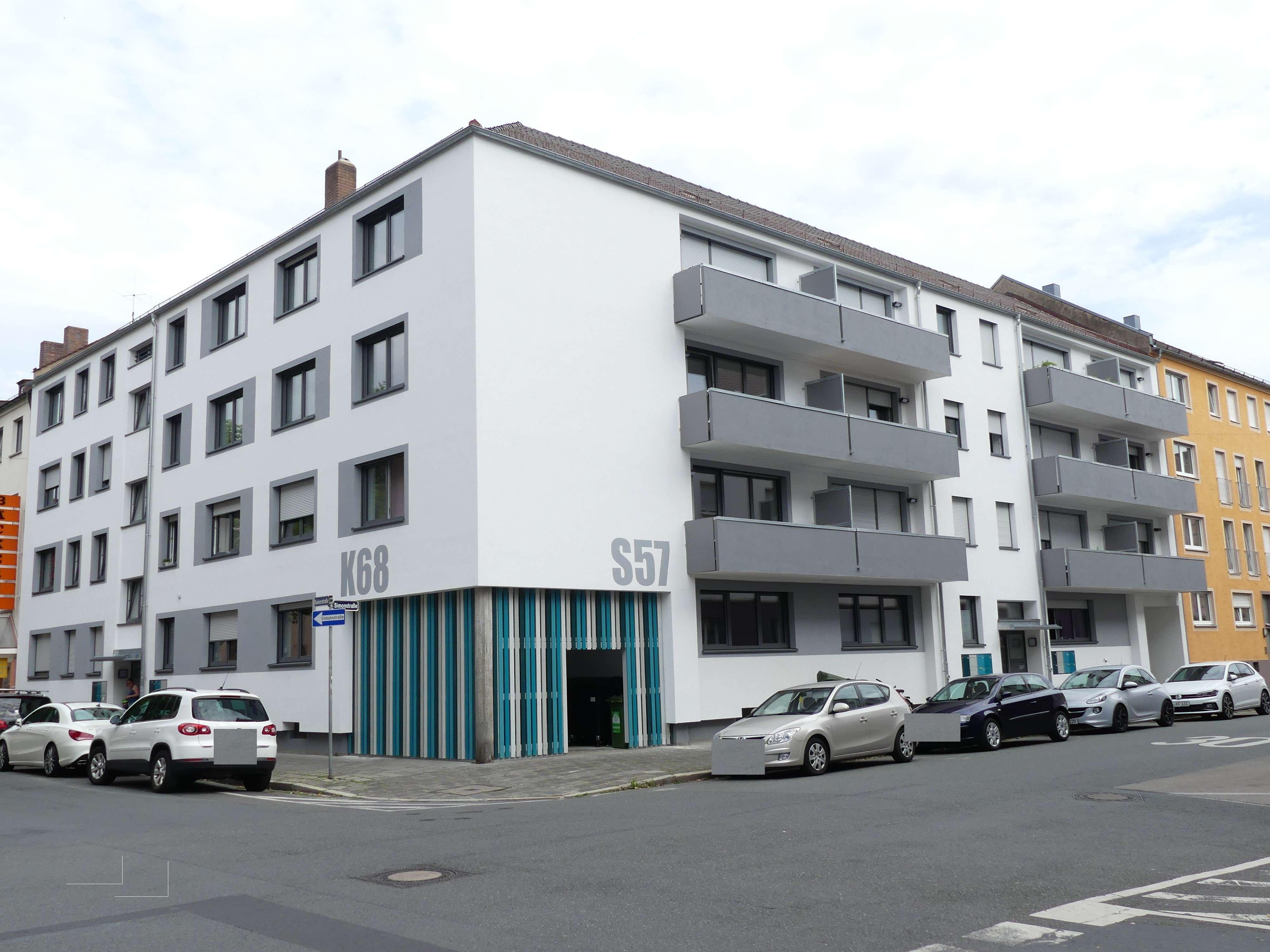 ERSTBEZUG NACH SANIERUNG! Großzügige 4-Zimmer-Wohnung, WG-geeignet in Südstadt (Fürth)