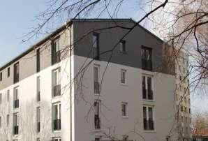 1-Zimmerwohnung mit Kochnische - NUR für Senioren ab 60 Jahre in Seniorenwohnanlage in Milbertshofen