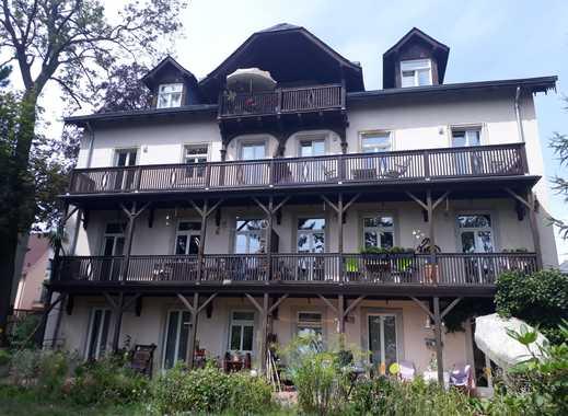 Helle 3-Zimmer-Wohnung mit Balkon in DD-Loschwitz