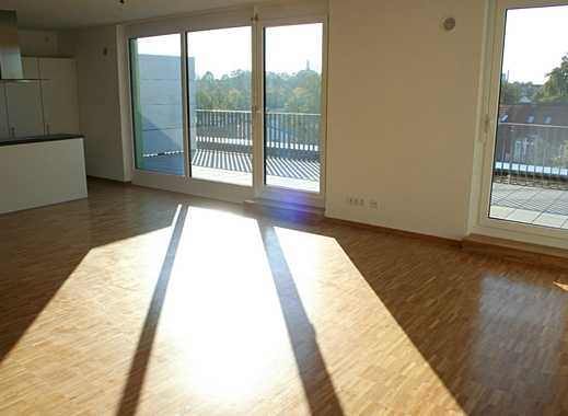 Penthouse-Wohnung! 3-Zimmer mit 39 m² Dachterrasse und 40 m² großen offenen Wohn-/Ess-/Kochbereich