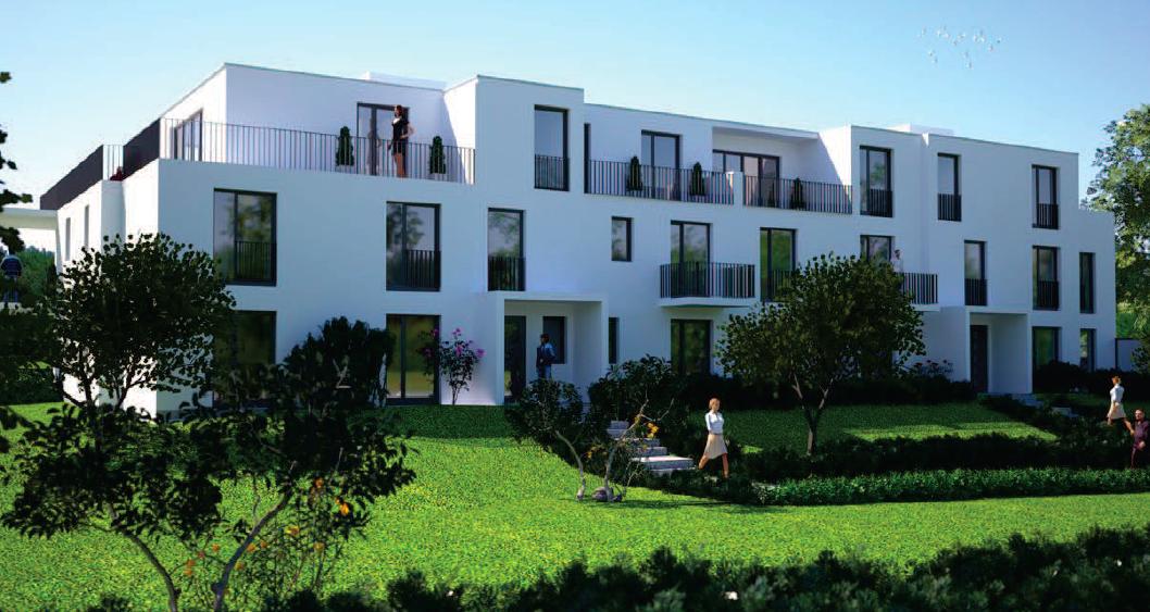 Exklusive Etagenwohnung mit Garten und Lechblick in