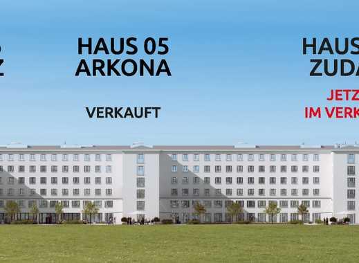 architektonische Besonderheit von Prora, Provisionfrei, 1.Stranlage mit Denkmal-AfA & Erstbezug