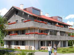 Süd-und Westfassade (3D)