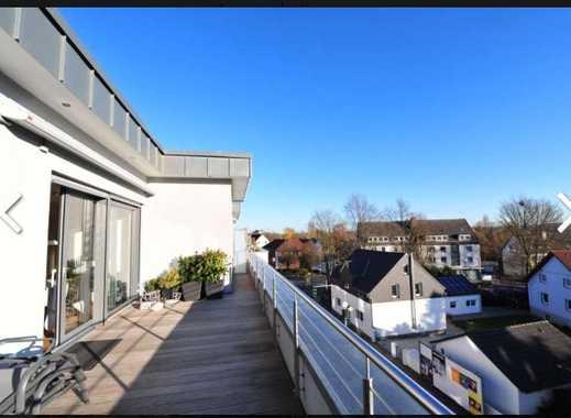 Neuwertige 3,5-Zimmer-Penthouse-Wohnung mit zwei XXL Terrassen und Fahrstuhl in Essen-Burgaltendorf