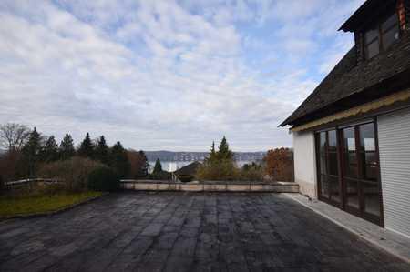 Möblierte Wohnung mit großzügiger Terrasse, Garten und Seeblick in Starnberg (Starnberg)