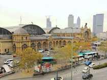 Ffm-Hauptbahnhof kompakt geschnittene 1-Zi-Wohnung mit