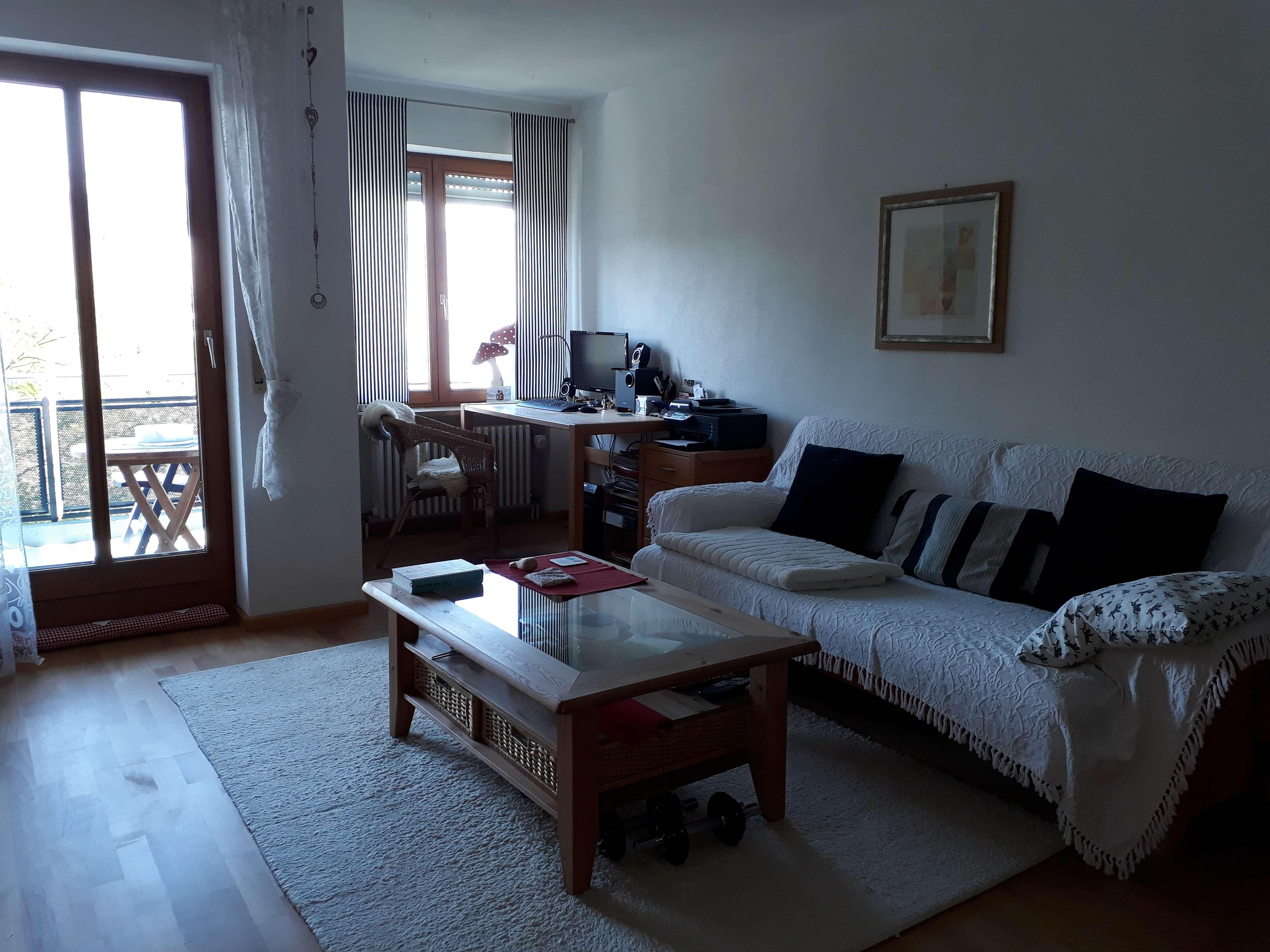☼ schöne, vorteilhaft geschnittene 2-Zimmer-Wohnung mit Balkon und EBK in Haunstetten (Augsburg)