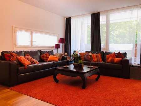 ERSTBEZUG nach Renovierung - tolle 3,5-4 Zimmer Wohnung, voll möbliert, befristet zu vermieten in Ottobrunn