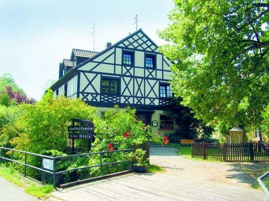 Gasthof-Pension-Ferienwohnung-Biergarten Wohnhaus