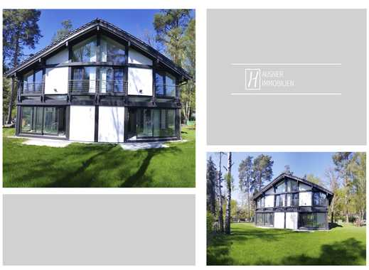 Neue Bilder! Update! Moderne Fachwerkarchitektur trifft sonniges Grundstück mit Waldflair (DHH)
