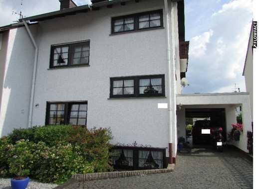 Koblenz-METTERNICH: Exklusives Einfamilienhaus mit Garage und Garten, unverbauter Blick auf Koblenz!