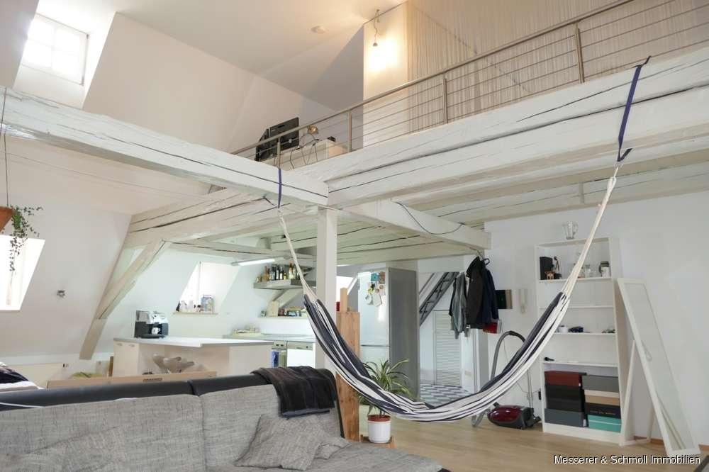 Selten zu finden: Traumhafte Maisonette Wohnung -  individuell u. großzügig - inmitten der Altstadt in Altstadt (Landshut)