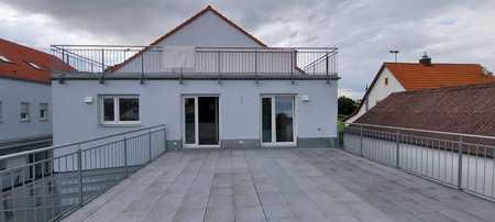 Tolle, helle  4-Raum-Dachterassenwohnung  in Manching in Manching