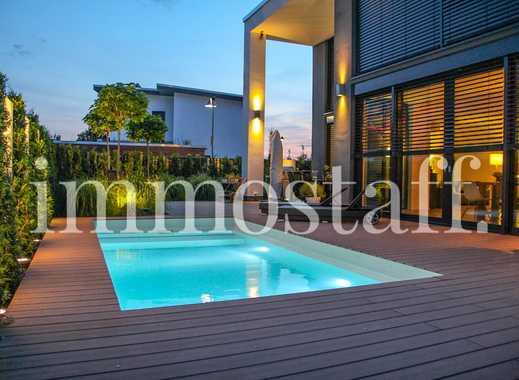 CUBUS AM PARK: Neues Architektenhaus mit Garage & Pool sucht neuen Eigentümer! PROVISIONSFREI!