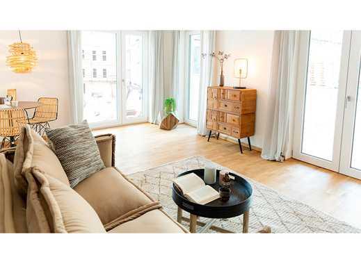 Hell & Modern! Attraktive 3-Zimmer-Wohnung mit schöner Loggia in zentrumsnaher Lage