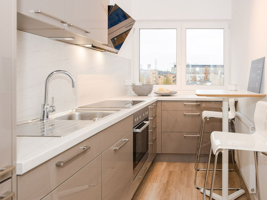 Ein Haus wie Berlin selbst - 3-Zimmer Wohnung auf ca. 75 m² mit ...