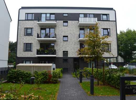 Endetage! - 4-Zimmer-Neubauwohnung mit 2 Balkonen an der Alsterkrugchaussee zu vermieten