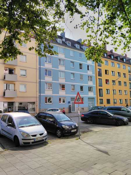 Sehr schöne helle 2,5 Zimmerwohnung mit Wohnküche in Untergiesing, Erstbezug nach Sanierung in Untergiesing (München)