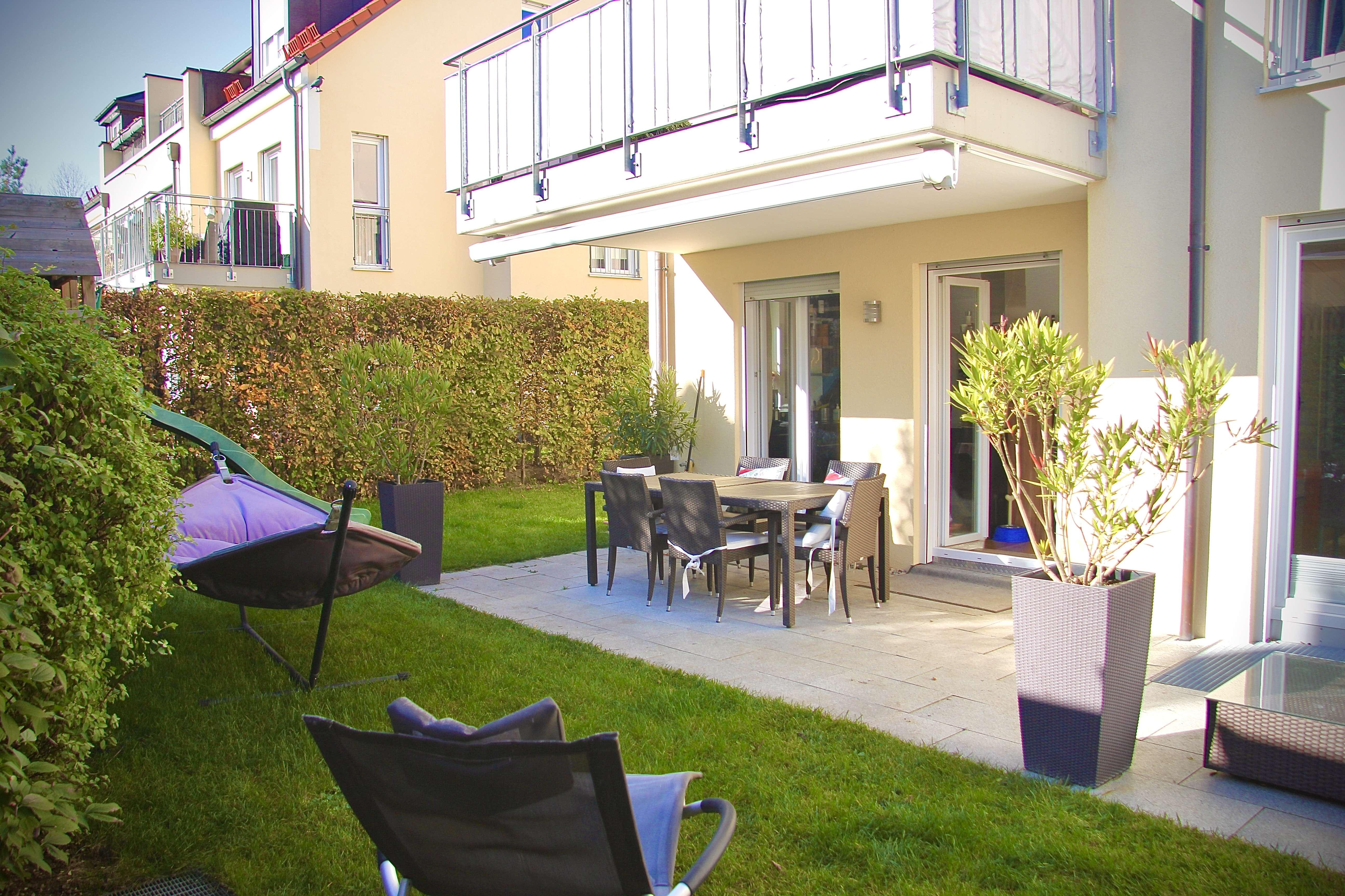 Exklusive 5-Zimmer Wohnung mit Garten in Alt-Solln, München (auch möbliert möglich) in Solln (München)