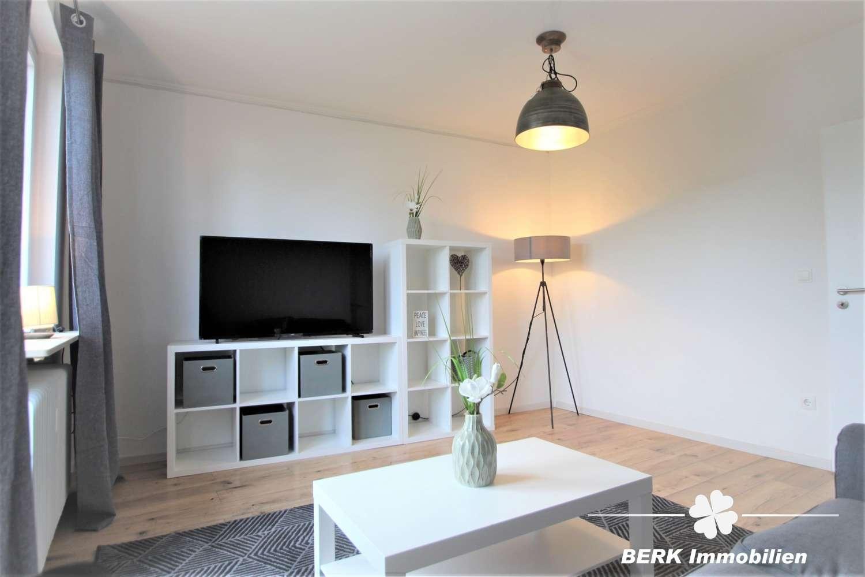 BERK Immobilien - Einziehen und Wohlfühlen - Vollmöblierte 2-Zimmer-Wohnung für Wochenendheimfahrer! in