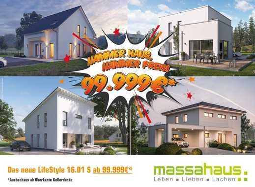 Mit dem massa Aktionshaus schnell und günstig ein Zuhause erschaffen!