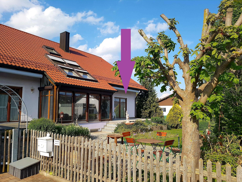 Gepflegte 2 ZKB, 73qm, zusätzlich Terasse, Keller in Baar-Ebenhausen in