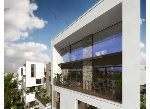 Außergewöhnlich wohnen am Offenbacher Hafenbecken – 2-Zimmer-Wohnung mit zwei großen Terrassen!