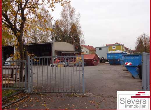 Neufarn bei Parsdorf: Lagerplatz mit offener Halle zu vermieten!